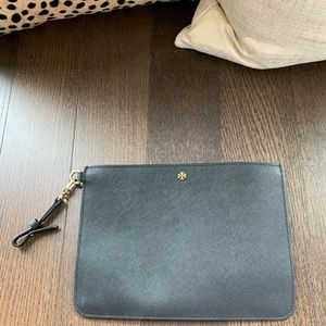 Black Tory Burch small leather good